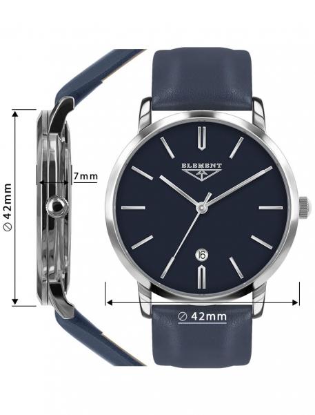 Наручные часы 33 ELEMENT 331604 - фото с размерами