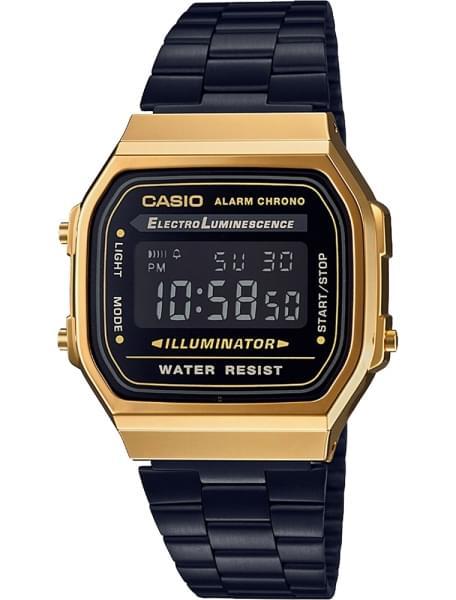 Casio A-168WEGB-1 – купить наручные часы, сравнение цен интернет ... a174e75fdf0
