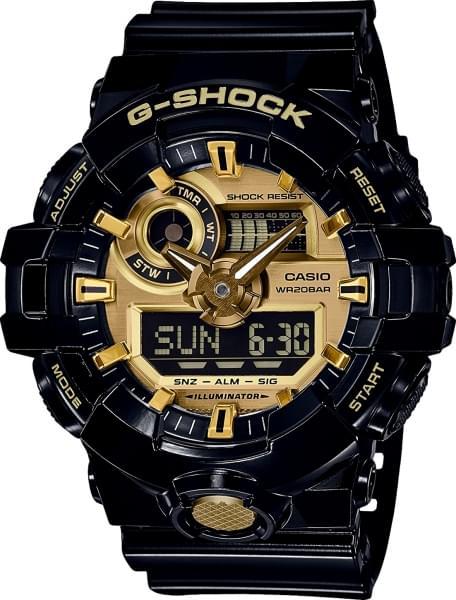 Наручные часы Casio GA-710GB-1A