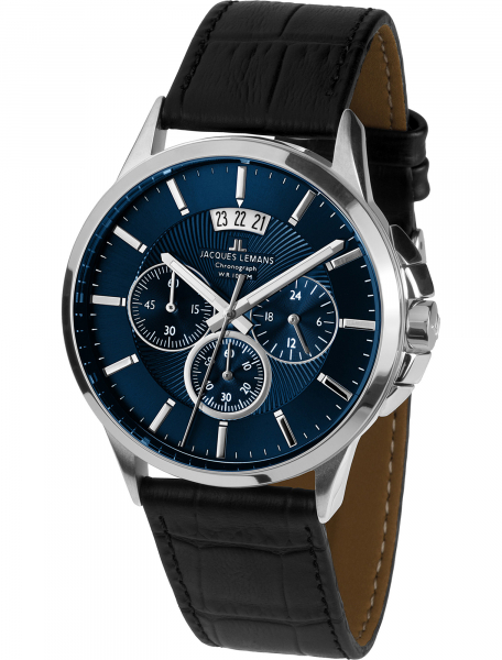 Наручные часы Jacques Lemans 1-1542G - фото спереди