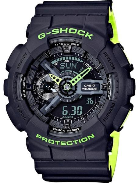 Наручные часы Casio GA-110LN-8A - фото спереди
