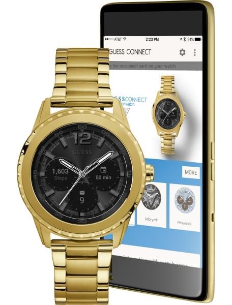 Умные часы Guess Connect C1002M3 - фото спереди