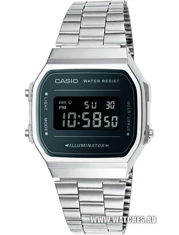 Наручные часы Casio A-168WEM-1E  купить в Москве и по всей России по ... 6a40937a6f309