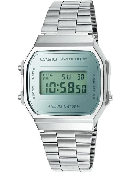 Наручные часы Casio A-168WEM-7E - фото спереди