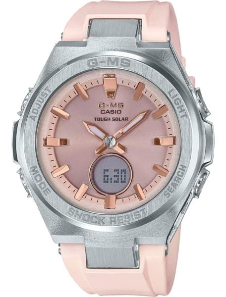 Наручные часы Casio MSG-S200-4AER - фото спереди