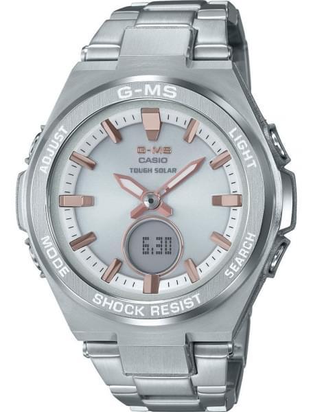Наручные часы Casio MSG-S200D-7AER - фото спереди