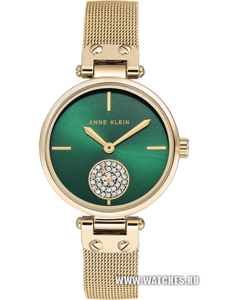 33120038be57 Наручные часы Anne Klein 3000GNGB  купить в Москве и по всей России ...