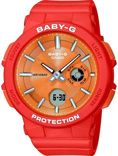Наручные часы Casio BGA-255-4AER - фото спереди