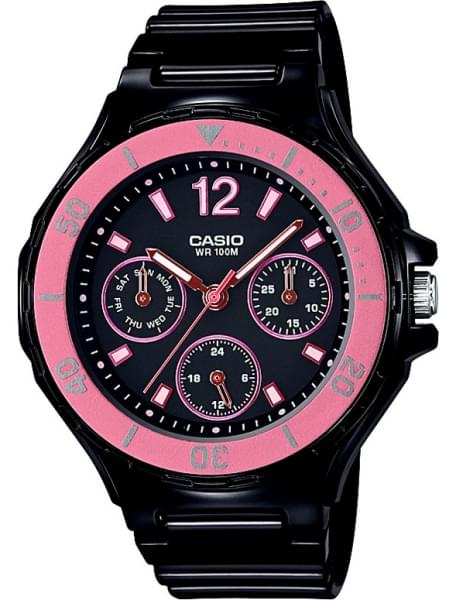 Наручные часы Casio LRW-250H-1A2VEF - фото спереди