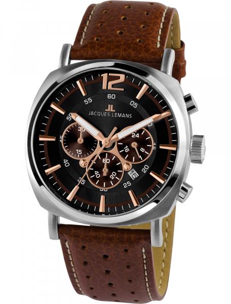 Наручные часы Jacques Lemans 1-1645K - фото спереди