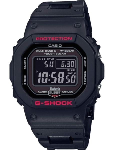 Наручные часы Casio GW-B5600HR-1ER - фото спереди