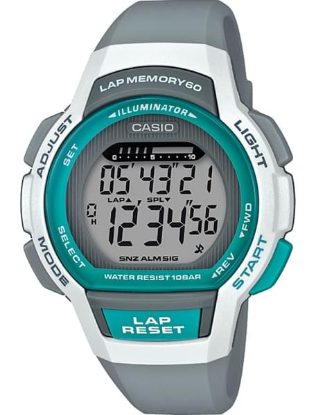 Наручные часы Casio LWS-1000H-8AVEF - фото спереди