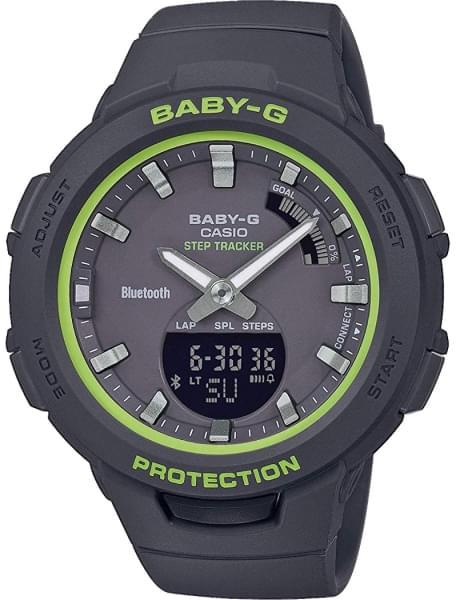 Наручные часы Casio BSA-B100SC-1AER - фото спереди