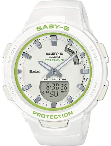 Наручные часы Casio BSA-B100SC-7AER - фото спереди