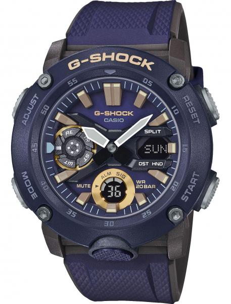 Наручные часы Casio GA-2000-2AER - фото спереди