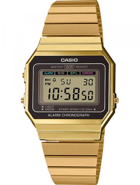 Наручные часы Casio A700WEG-9AEF - фото спереди