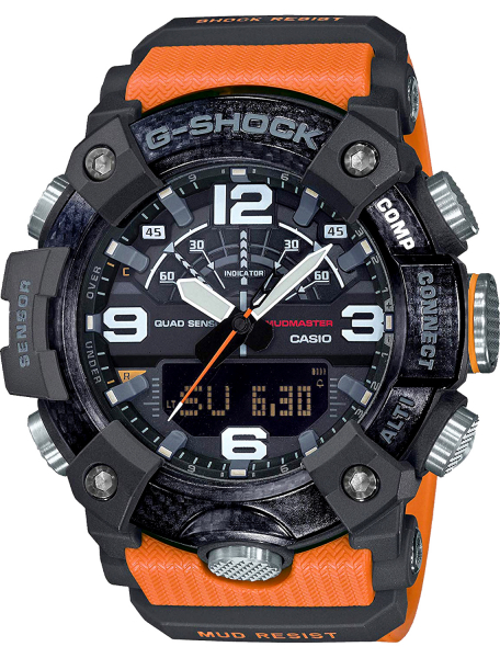 Наручные часы Casio GG-B100-1A9ER - фото спереди