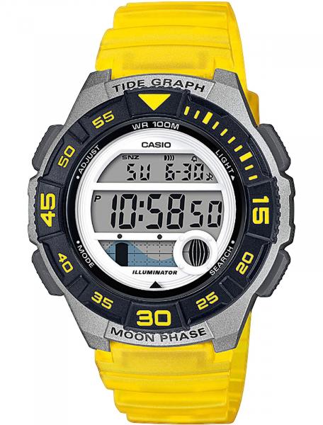 Наручные часы Casio LWS-1100H-9AVEF - фото спереди