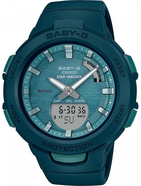 Наручные часы Casio BSA-B100AC-3AER - фото спереди