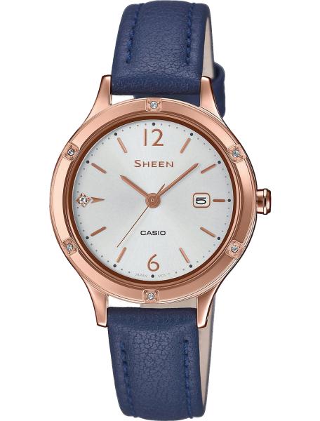 Наручные часы Casio SHE-4533PGL-7BUER - фото спереди