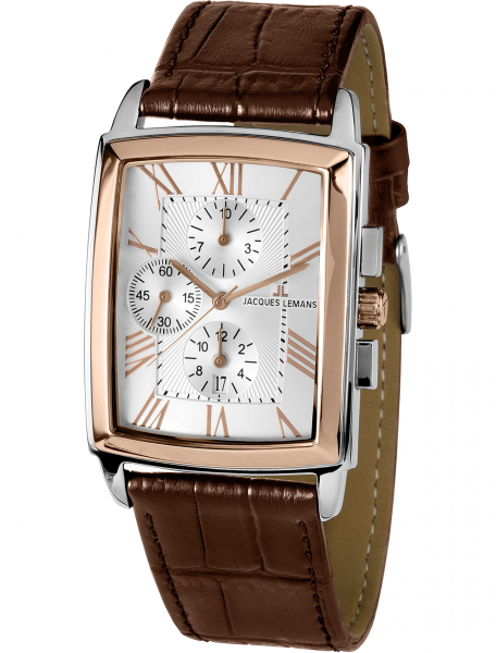Наручные часы Jacques Lemans 1-1609D - фото спереди