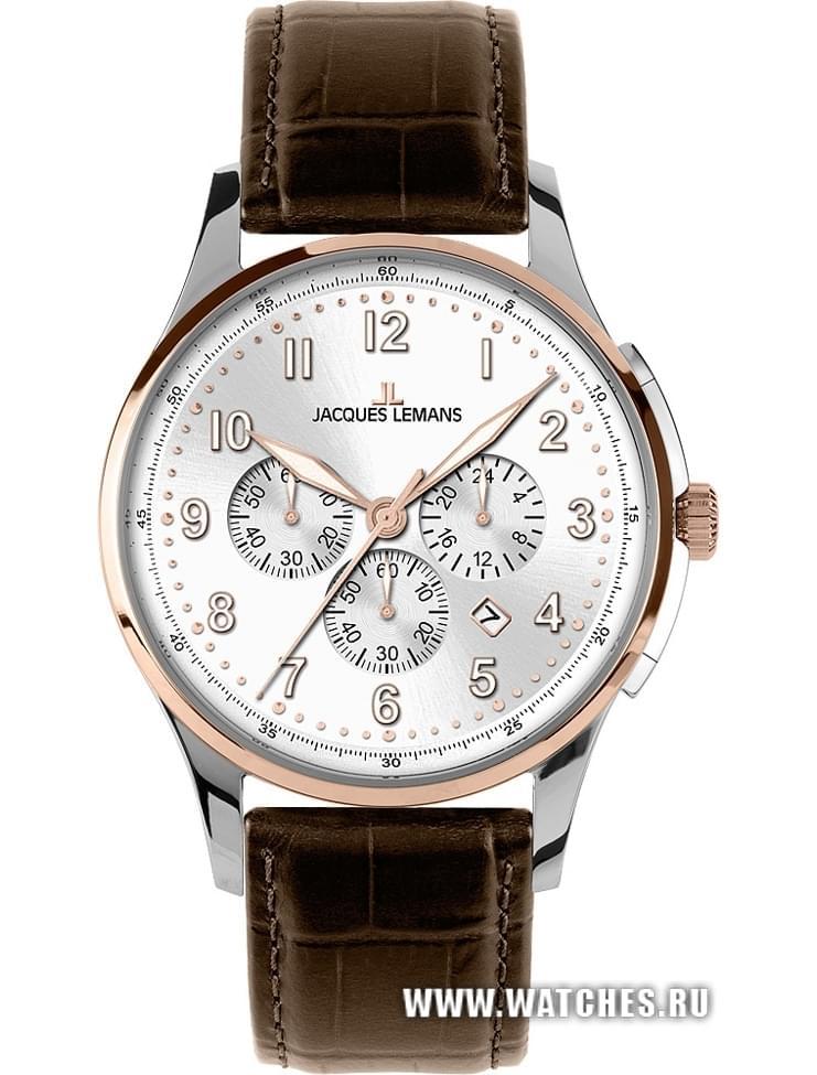 0c420250 Наручные часы Jacques Lemans 1-1619D: купить в Омске по низкой цене ...