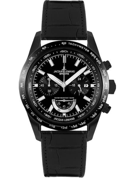 Наручные часы Jacques Lemans 1-1636C - фото спереди