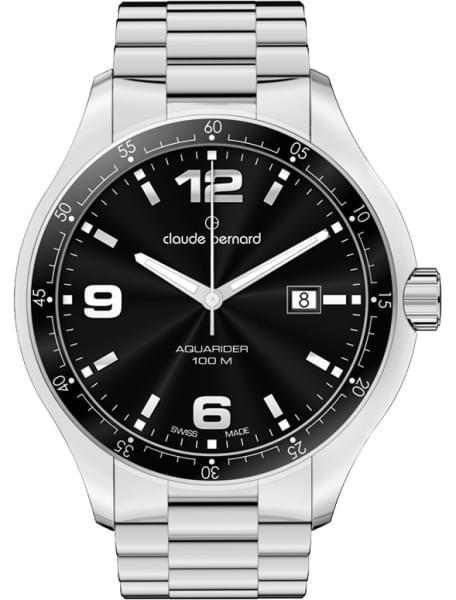 Наручные часы Claude Bernard 70165-3NIN - фото спереди