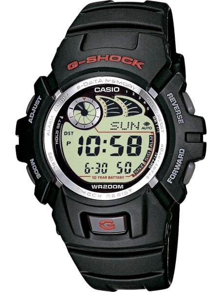 Наручные часы Casio G-2900F-1V - фото спереди
