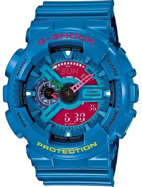 Наручные часы Casio GA-110HC-2A - фото спереди