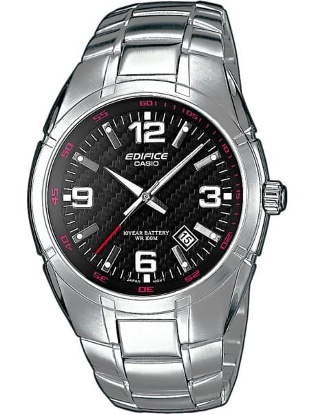Наручные часы Casio EF-125D-1A - фото спереди