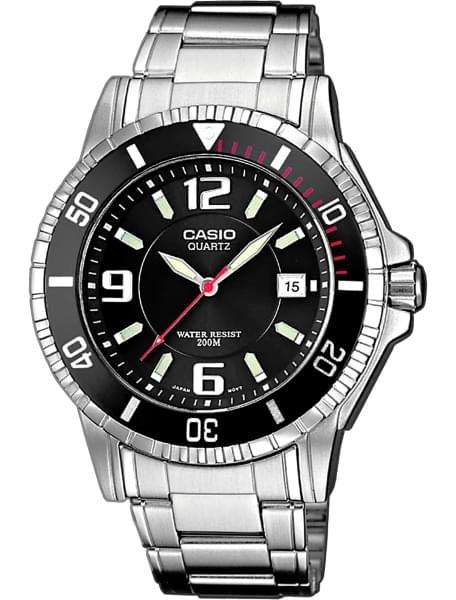 Наручные часы Casio MTD-1053D-1A - фото спереди