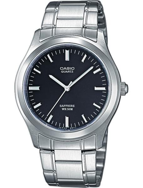 Наручные часы Casio MTP-1200A-1A - фото спереди