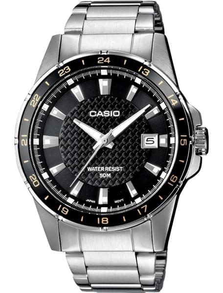 Наручные часы Casio MTP-1290D-1A2 - фото спереди