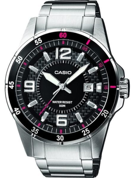 Наручные часы Casio MTP-1291D-1A1 - фото спереди
