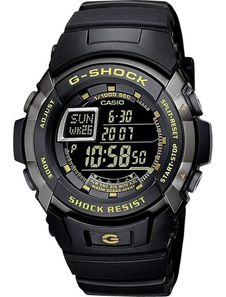 Наручные часы Casio G-7710-1E - фото спереди
