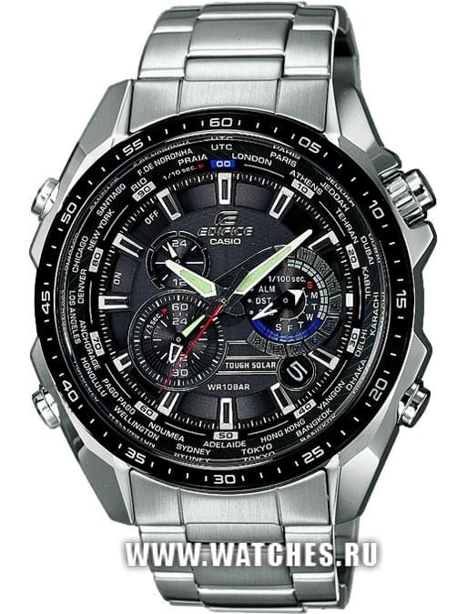 6e9dfeae Наручные часы Casio EQS-500DB-1A1: купить в Ростове-на-Дону по ...