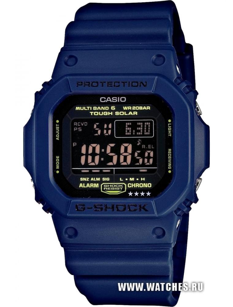 Наручные часы Casio GW-M5610NV-2E, купить часы GW-M5610NV ...