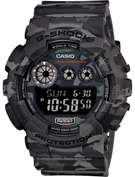 Наручные часы Casio GD-120CM-8E - фото спереди