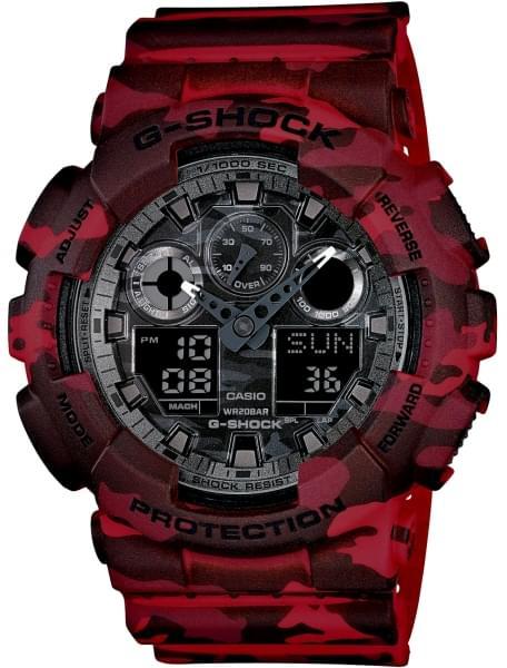 Наручные часы Casio GA-100CM-4A
