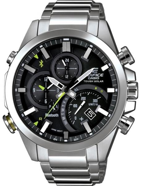 Наручные часы Casio EQB-500D-1A - фото спереди