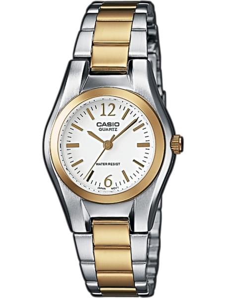 Наручные часы Casio LTP-1280PSG-7A - фото спереди