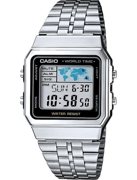 Наручные часы Casio A-500WEA-1E - фото спереди