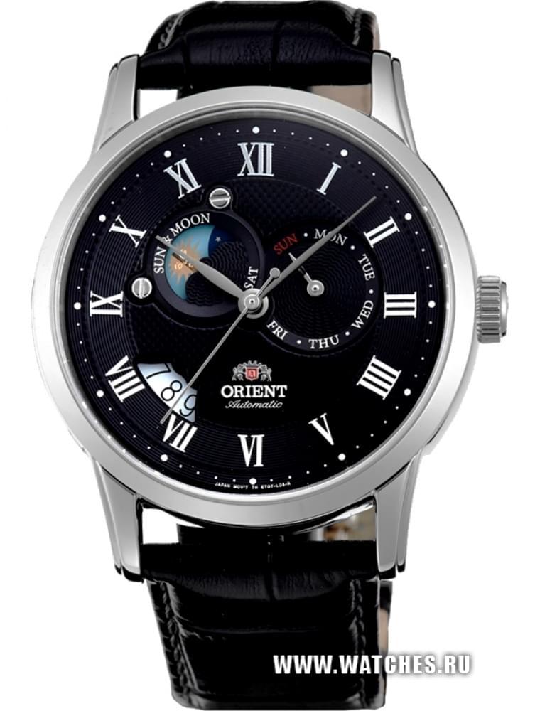 Купить Orient Часы Orient FET0T002B0. Коллекция Sun and Moon, Торговая марка Orient