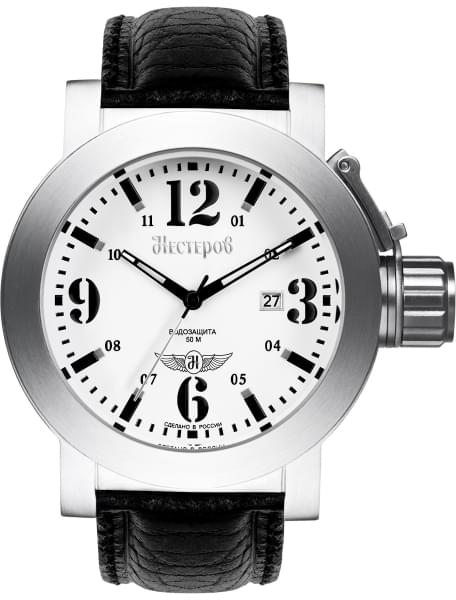 Наручные часы Нестеров H0957B02-05A - фото спереди