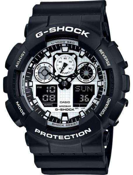 Наручные часы Casio GA-100BW-1A